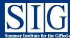 Summer Institute for the Gifted-Emory University