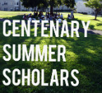 Centenary Summer Scholars