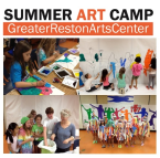 Greater Reston Arts Center Summer Art Camp