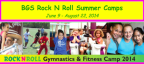 Broadway Gymnastic School Rock N Roll Summer Camps