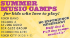 Bach to Rock Music Camp