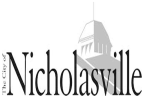 CITY OF NICHOLASVILLE