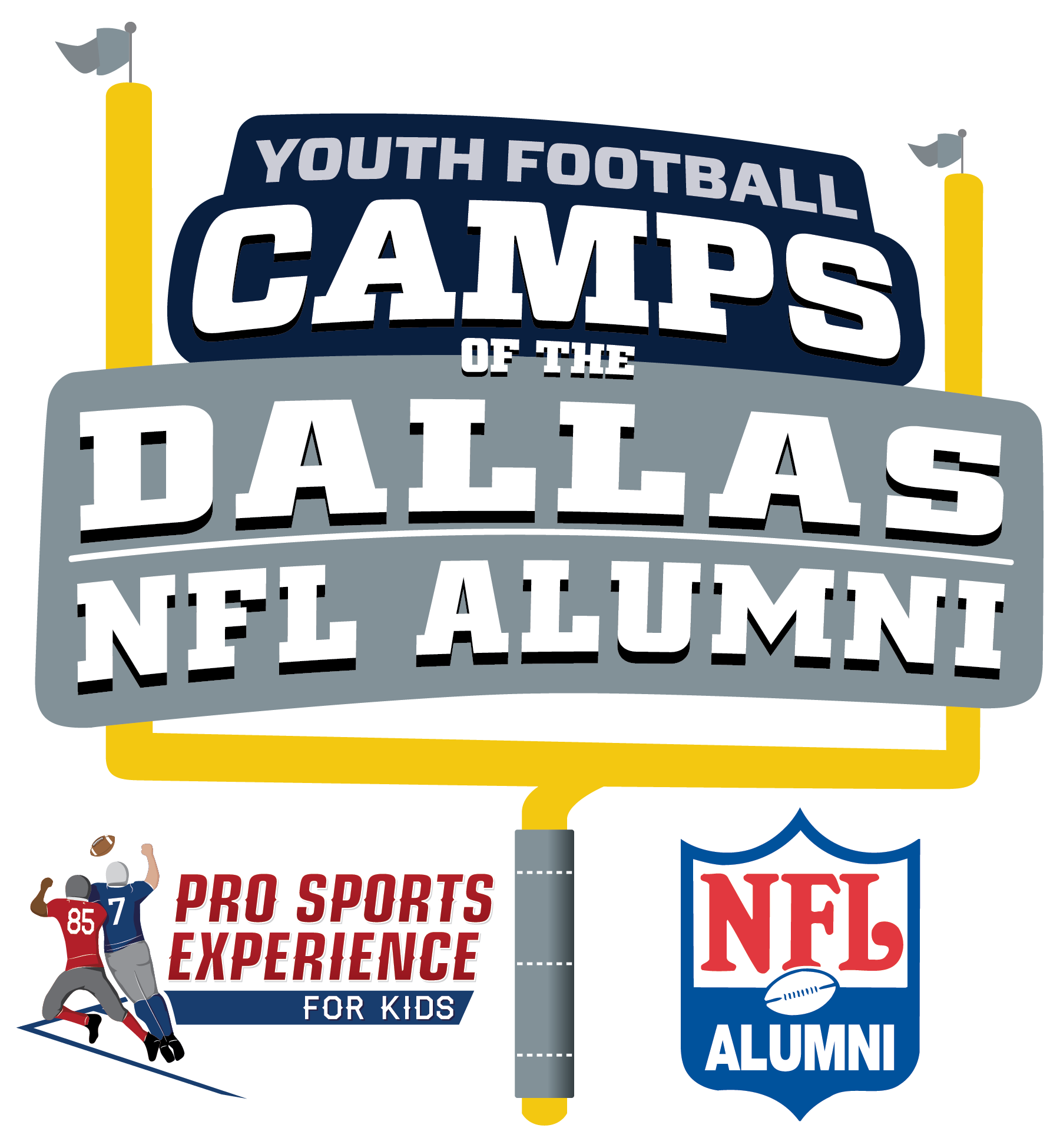 Dallas NFL Alumni Hero Youth Football Camps - Addison