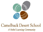 Camelback Desert School Summer Camp Zone