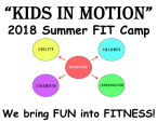 Kids in Motion- Summer FIT Camp
