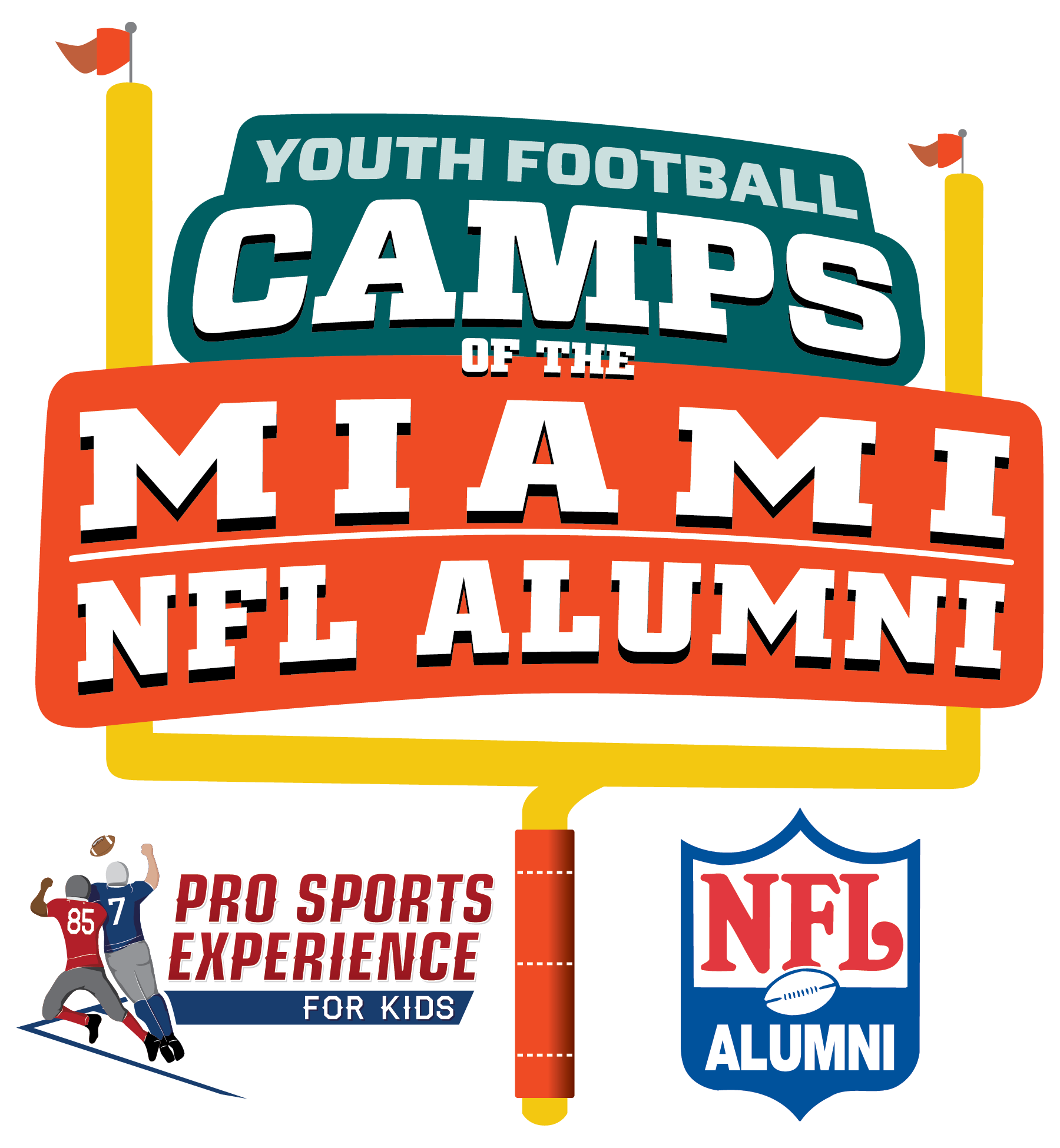 Miami NFL Alumni Hero Youth Football Camps - Miami