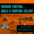 Mission Control: Build A Martian Colony