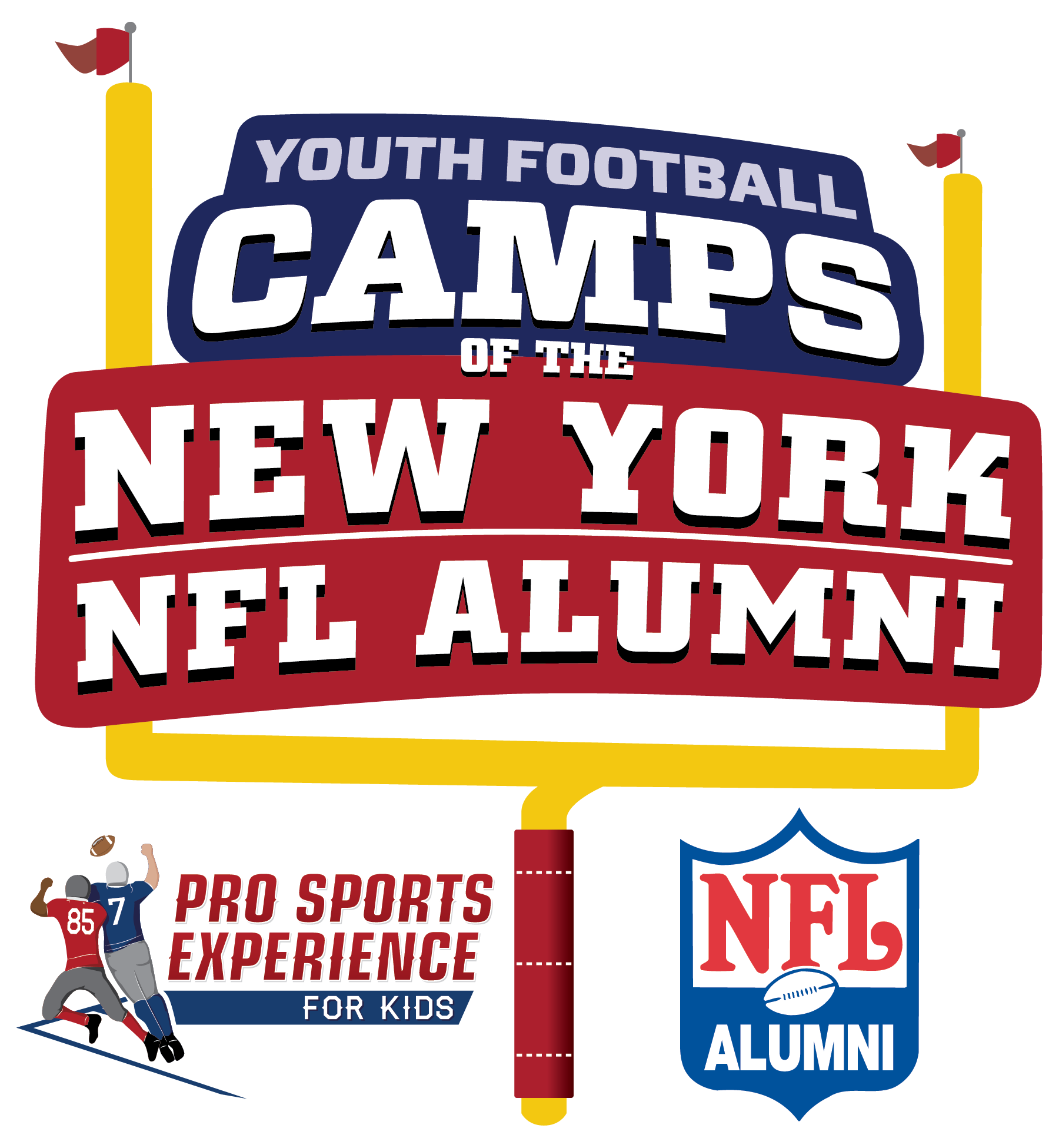 New York NFL Alumni Hero Youth Football Camps - Wallingford