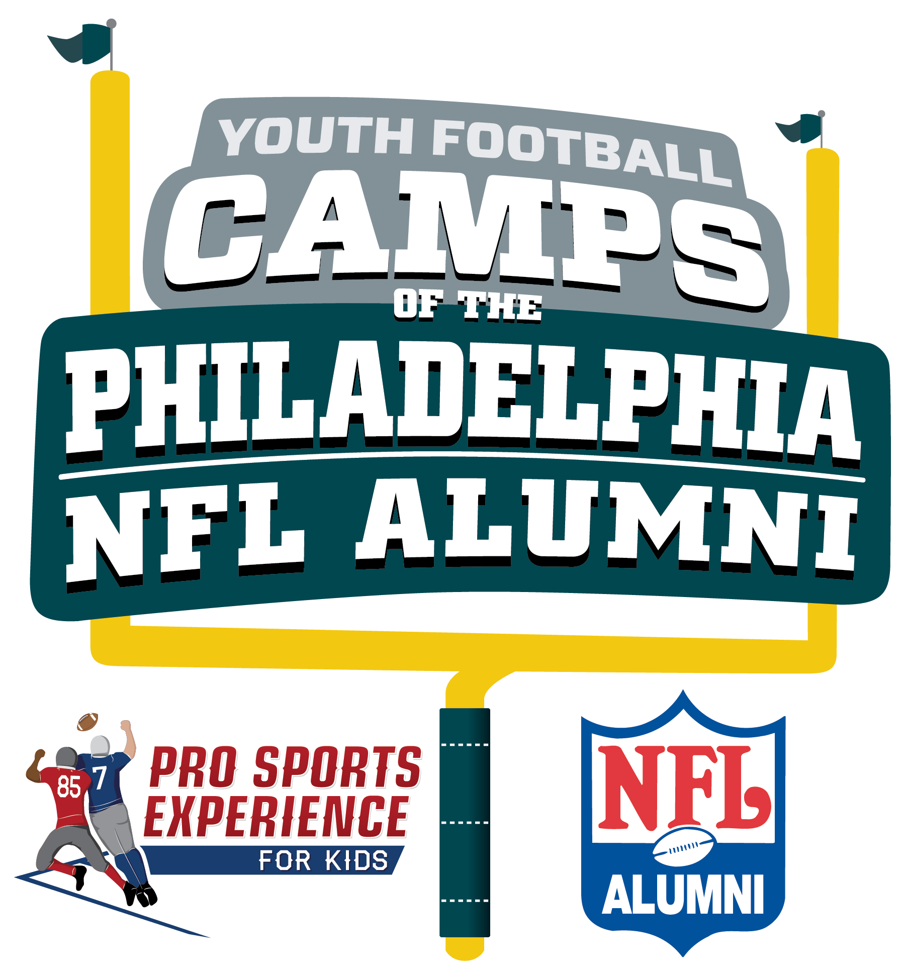 Philadelphia NFL Alumni Hero Youth Football Camps - Sewell