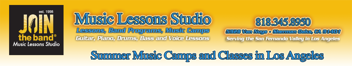 Join the Band Music School Summer Music Camps