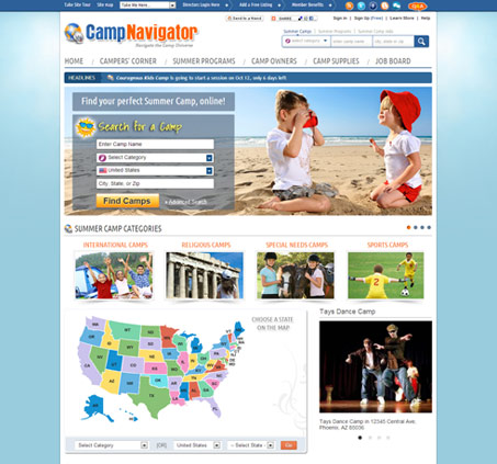 Welcome to CampNavigator