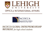 Lehigh University, Iacocca Global Entrepreneurship Intensive for high school students