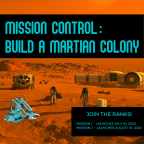 Mission Control: Build A Martian Colony